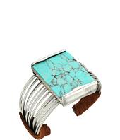 Robert Lee Morris - Semiprecious Stone Multi Row Cuff Bracelet