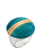 Robert Lee Morris - Two-Tone Patina Wire Stone Ring