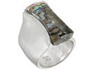Robert Lee Morris - Silver Stone Ring