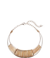Robert Lee Morris - Two-Tone Wire Wrap Collar Necklace