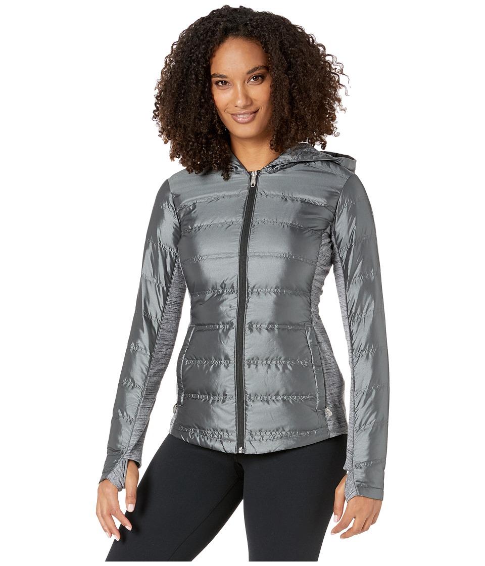 Spyder Solitude Hoodie Down Insulator Jacket (Black/Black) Women
