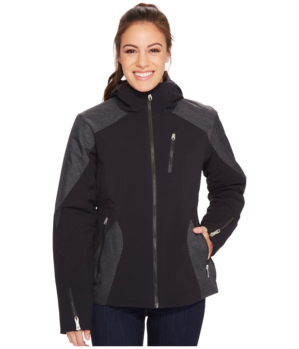 Spyder Avery Jacket (Black/Black) Women's Coat