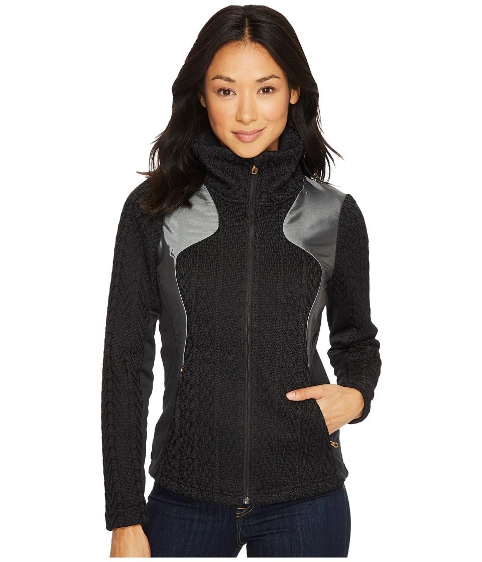 Spyder Lolo Full Zip Mid WT Stryke Jacket (Black) Women's...