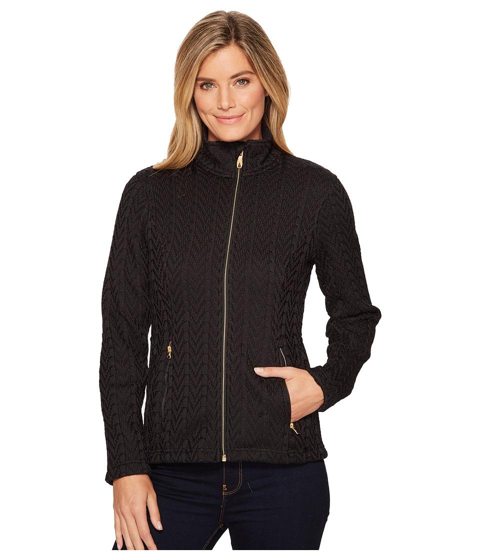 Spyder - Major Cable Stryke Jacket (Black) Womens Coat