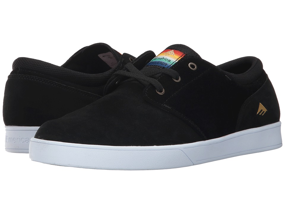 Emerica - The Figueroa (Black) Mens Skate Shoes