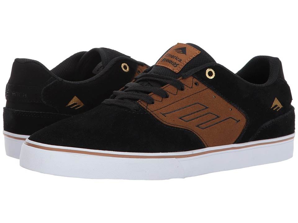 Emerica The Reynolds Low Vulc (Black/Tan) Men