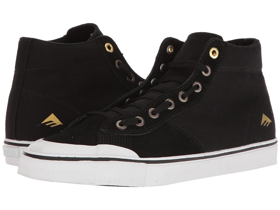 Emerica Indicator High (Black/White) Men