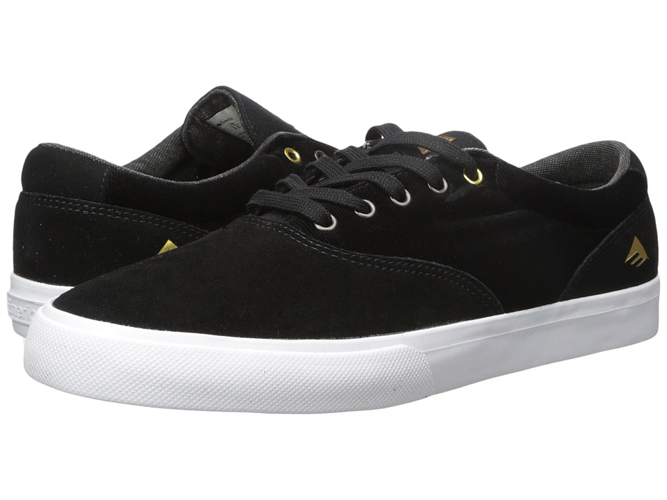 Emerica - The Provost Slim Vulc (Black/White/Gum) Mens Skate Shoes