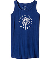Roxy Kids - Rainy Night Tropical Things Tank Top (Big Kids)