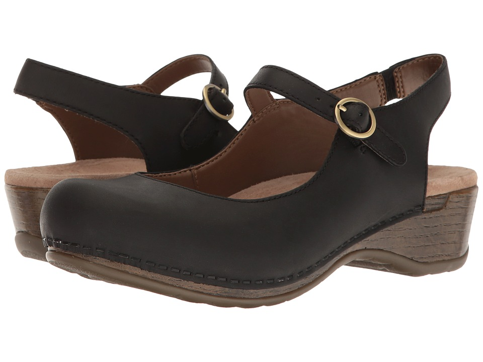 Dansko Maureen (Black Oiled) Women's  Shoes