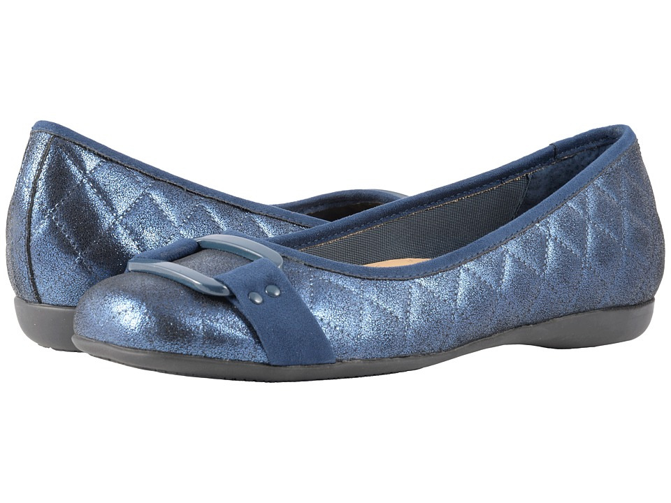 Trotters Sizzle (Navy Quilted) Women