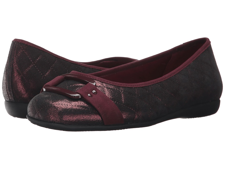 Trotters Sizzle (Burgundy Quilted) Women