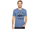 Life is Good Fish Pattern Life is Good(r) Cool Tee