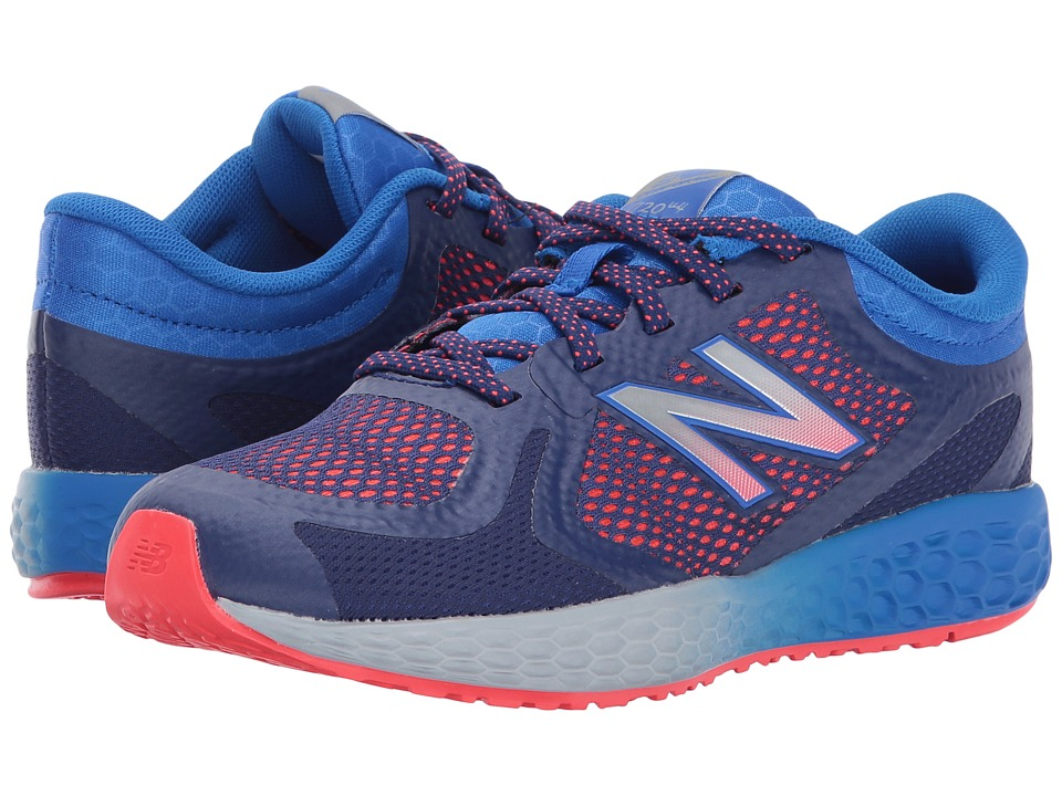 New Balance Kids KJ720v4 (Little Kid/Big Kid) (Blue/Orange) Boys Shoes