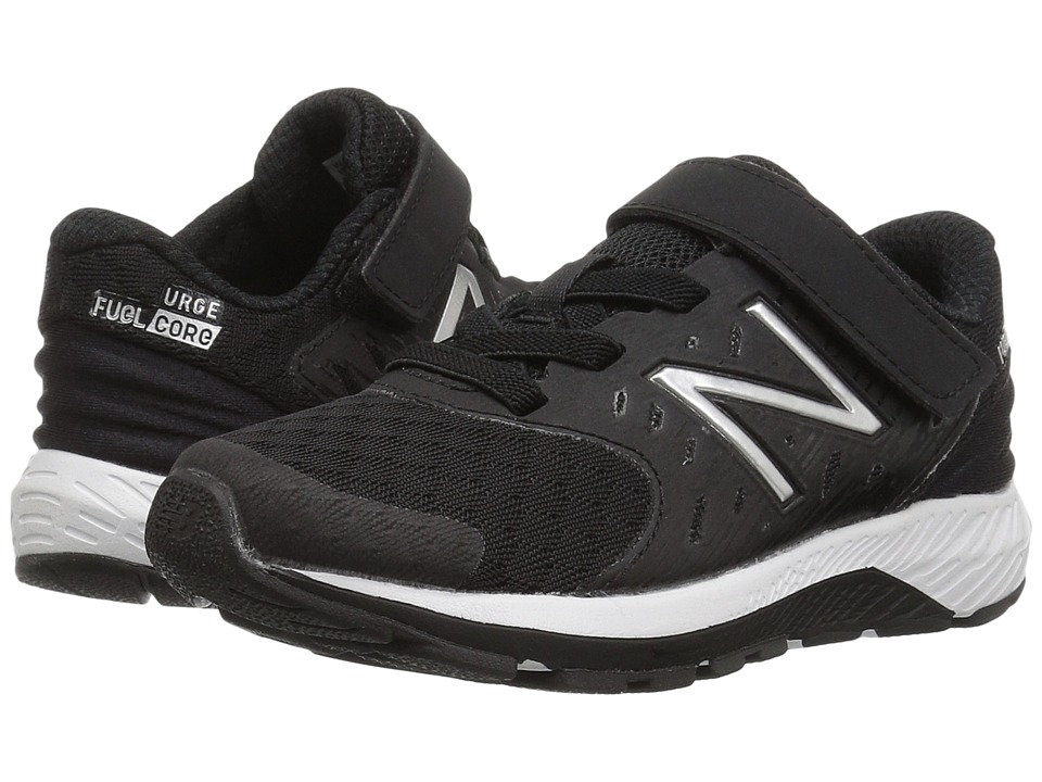 New Balance Kids Vazee Urge (Little Kid) (Black/White) Boys Shoes