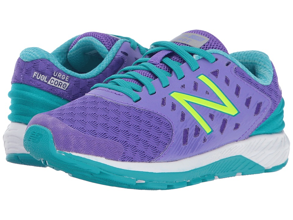 New Balance Kids FuelCore Urge v2 (Little Kid/Big Kid) (Purple/Teal) Girls Shoes