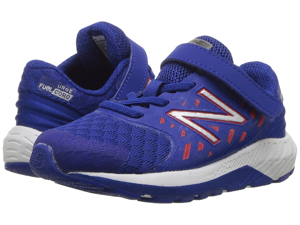 New Balance Kids Vazee Urge (Infant/Toddler) (Blue/Red) Boys Shoes