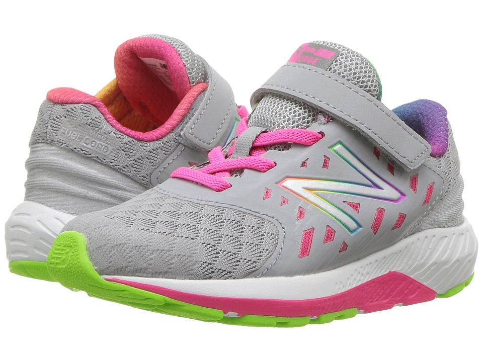 New Balance Kids Vazee Urge (Infant/Toddler) (Grey/Pink) Girls Shoes