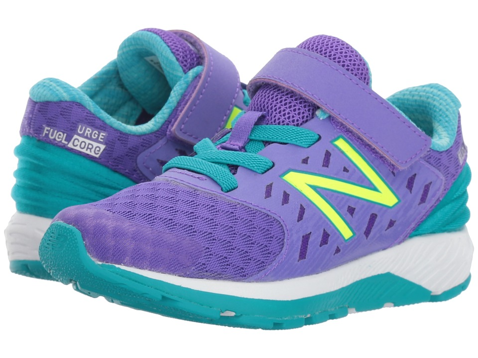 New Balance Kids Vazee Urge (Infant/Toddler) (Purple/Teal) Girls Shoes