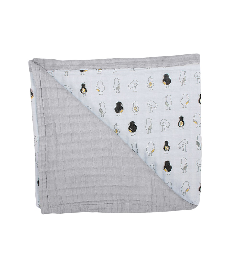 Bebe au Lait - Muslin Snuggle Blanket (Pipit and Pebble) Accessories Travel