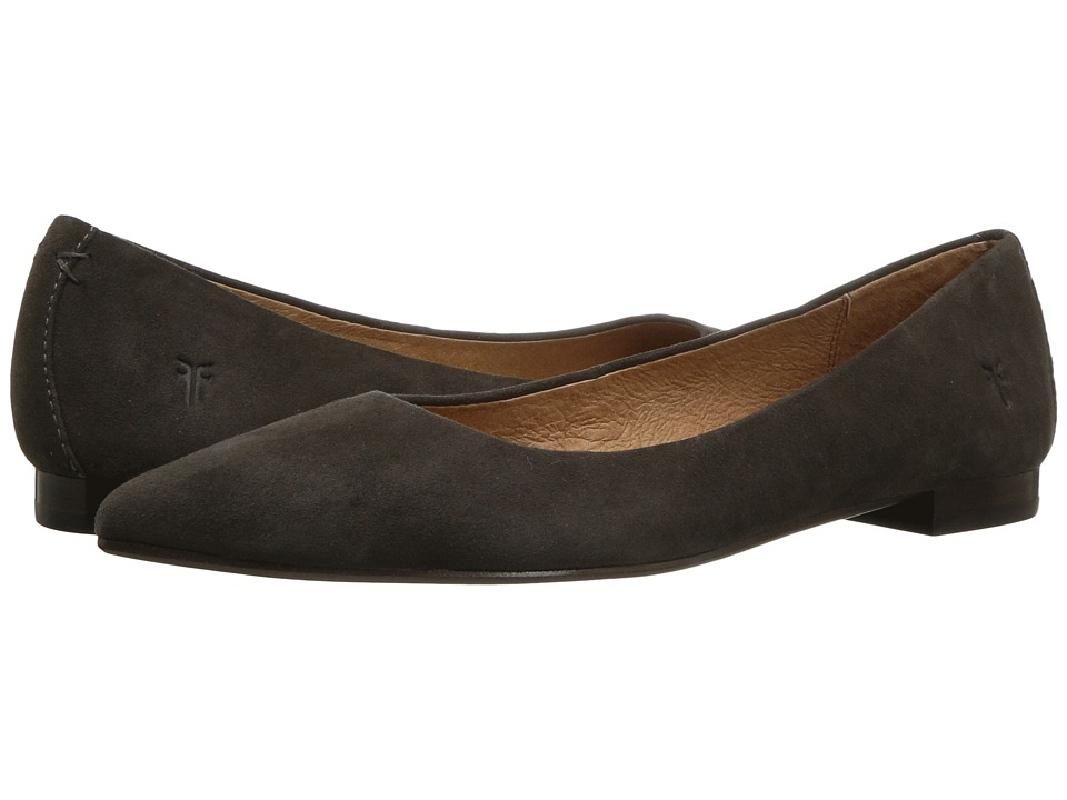 Frye - Sienna Ballet (Charcoal) Womens Flat Shoes