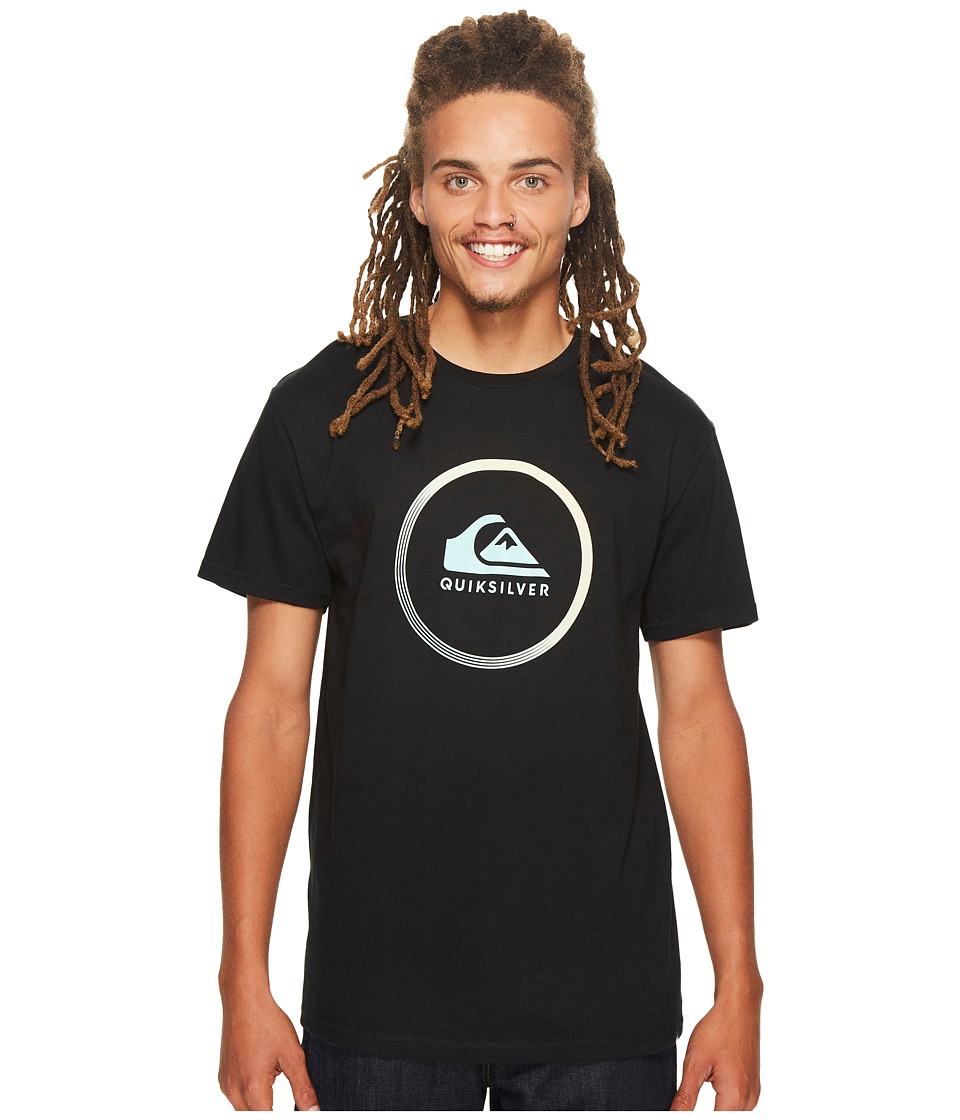 Quiksilver Active Logo Tee (Black) Men