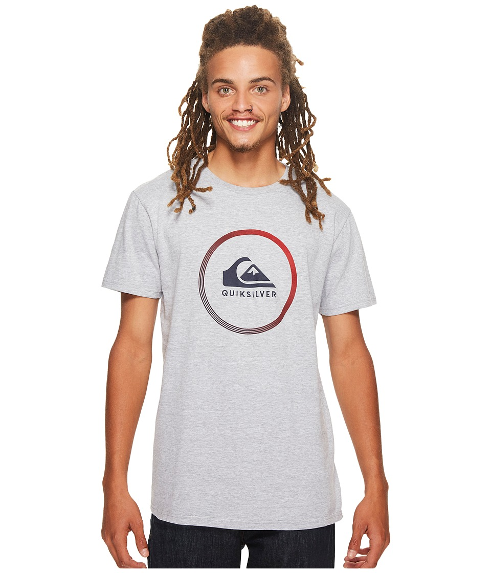 Quiksilver Active Logo Tee (Athletic Heather) Men