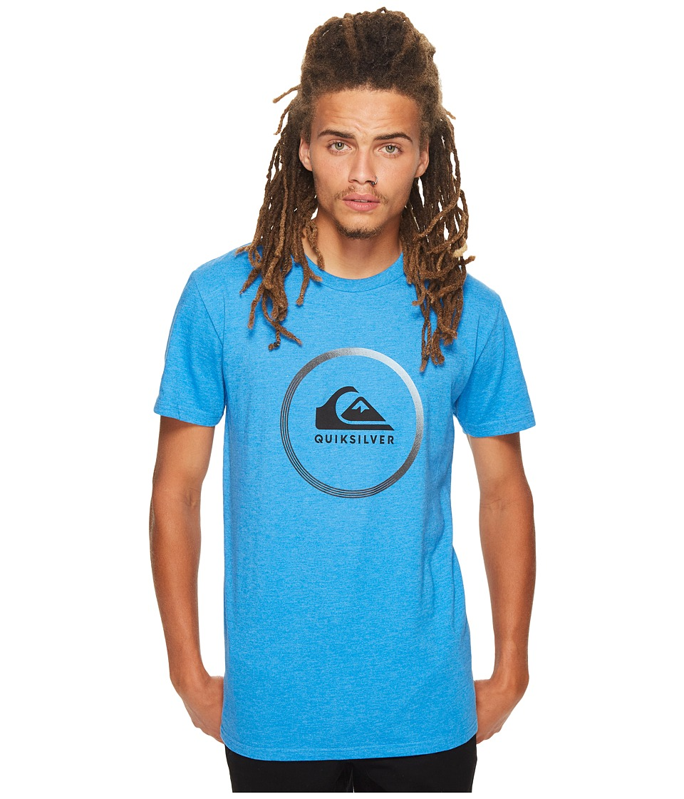 Quiksilver Active Logo Tee (Turkish Sea Heather) Men