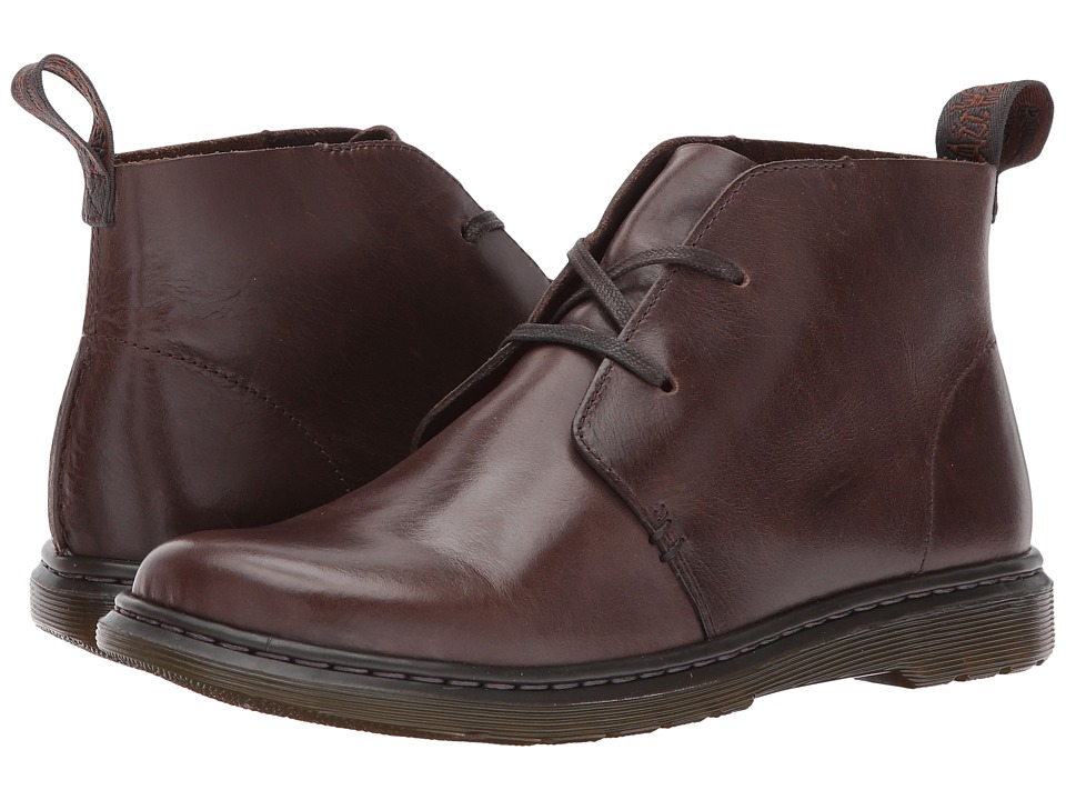 Dr. Martens Cynthia Chukka Boot (Dark Brown New Oily Illusion) Women