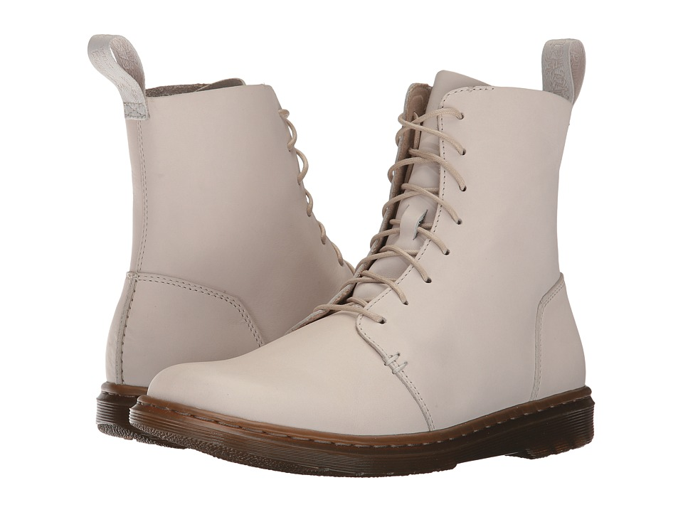Dr. Martens Danica 8-Eye Boot (Bone Temperley) Women