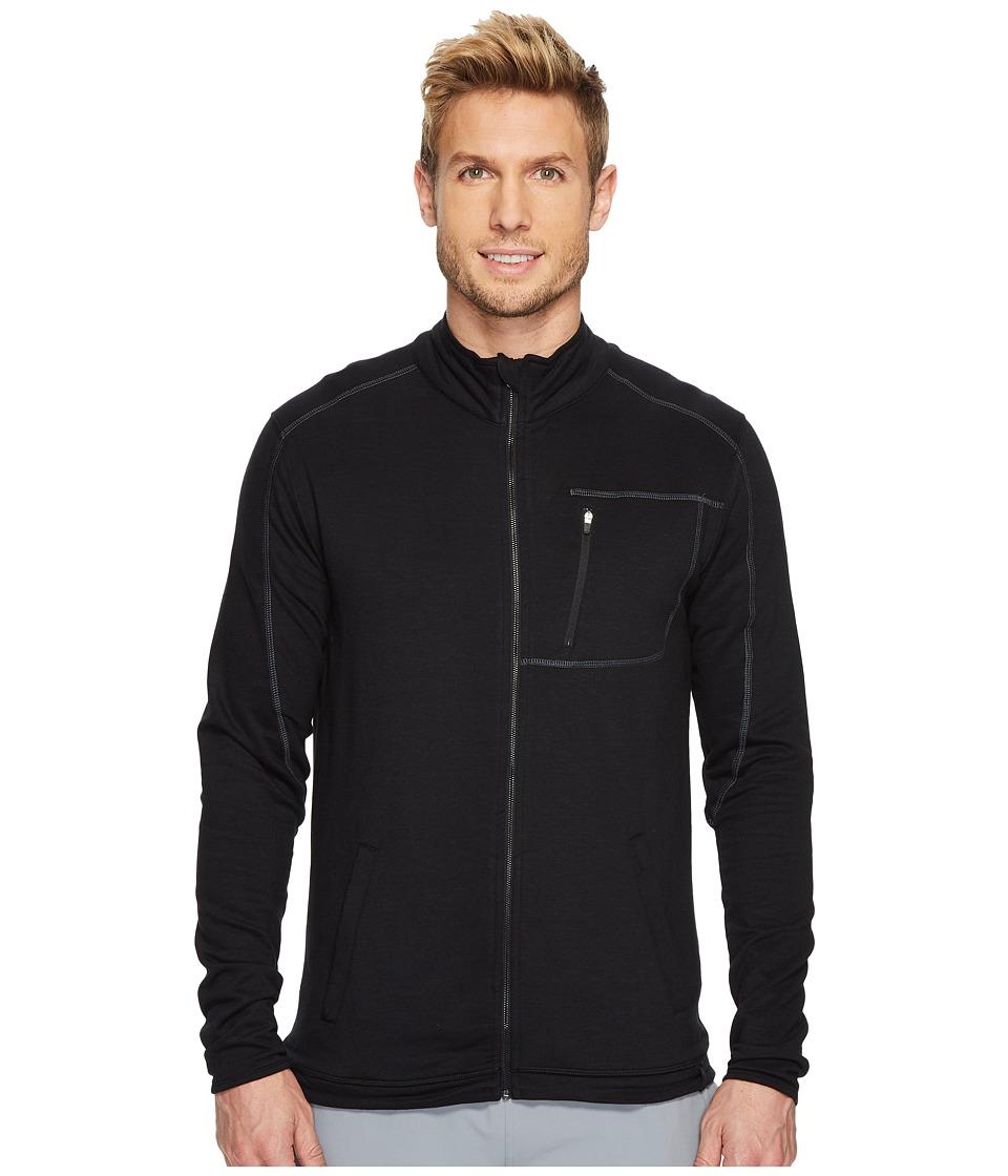 tasc Performance Tahoe Fleece Full Zip Jacket (Black) Men
