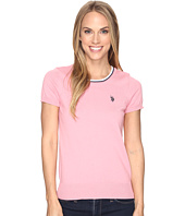 U.S. POLO ASSN. - Short Sleeve Scoop Neck Sweater