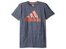 adidas Kids - Print Logo Tee (Big Kids)