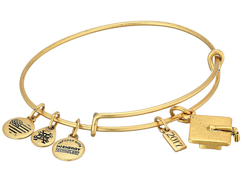 Alex and Ani Graduation Cap 2017 Bangle - Rafaelian Gold