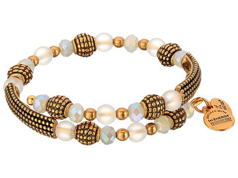 Alex and Ani Cosmic Messages - Destiny Tide Wrap Bracelet - Rafaelian Gold