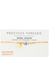 Alex and Ani - Precious Threads - Golden Ray Crystal Daybreak Braid Bracelet