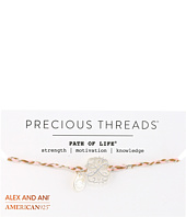 Alex and Ani - Precious Threads - Path Of Life Petunia Braid Bracelet