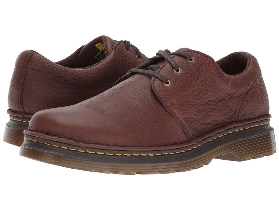 Dr Martens Hazeldon 3-Tie Shoe (Dark Brown Grizzly) Men's...
