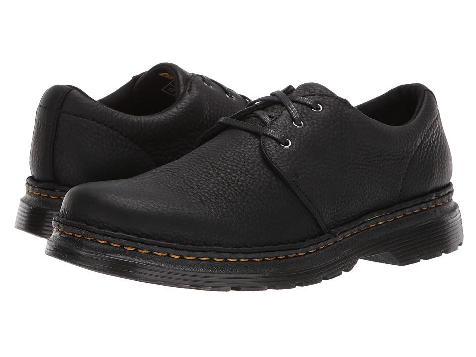 Dr Martens Hazeldon 3-Tie Shoe (Black Grizzly) Men's Shoes