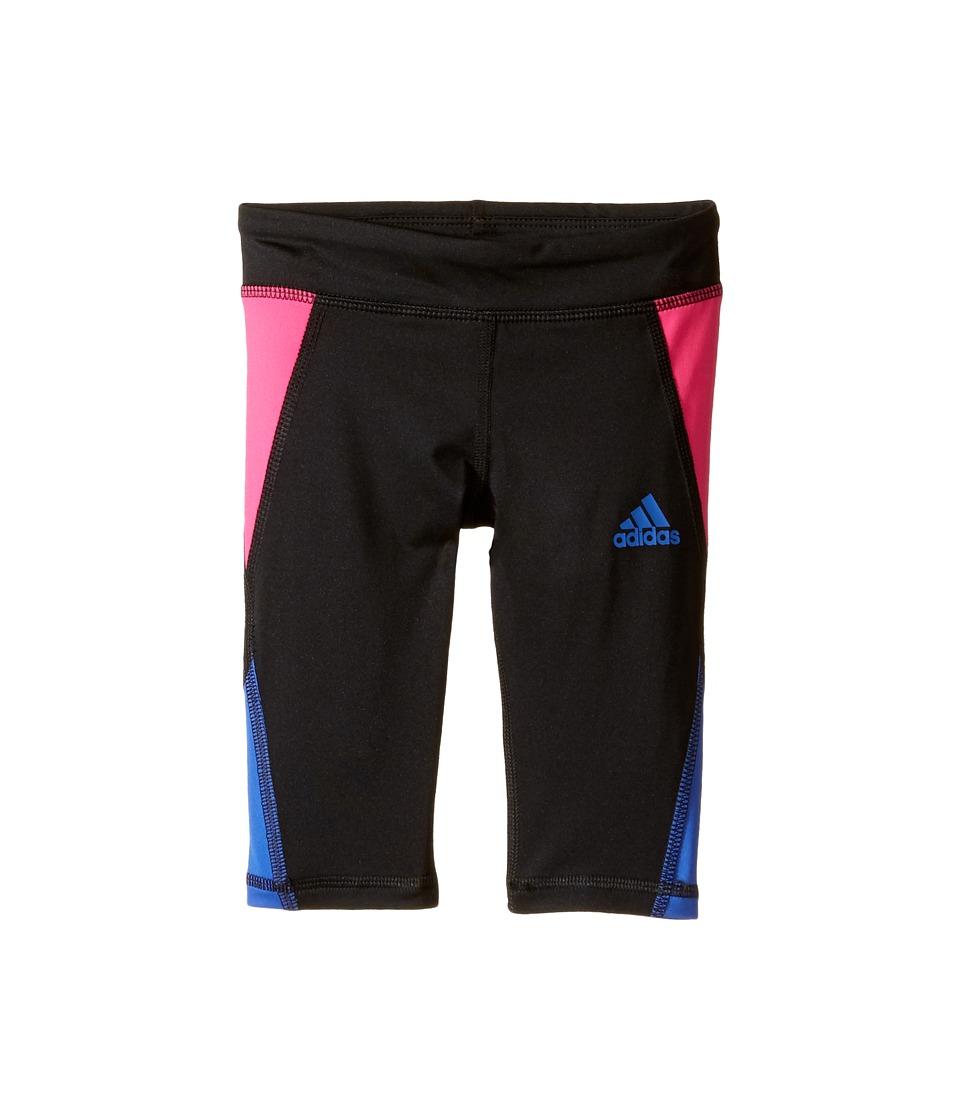 adidas Kids - Color Blocked Capri Tights