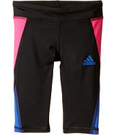 adidas Kids - Color Blocked Capri Tights (Toddler/Little Kids)