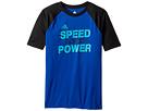 adidas Kids - Speed & Power Tee (Big Kids)