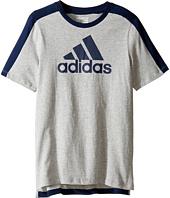 adidas Kids - Comfort Sport Tee (Big Kids)