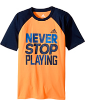 adidas Kids - Speed & Power Tee (Big Kids)