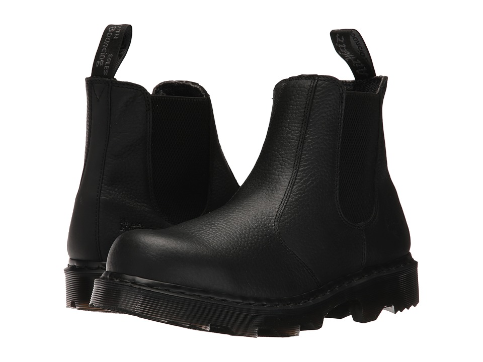 Dr. Martens Work Howden NS (Black Industrial Bear/Black Soft Rubbery) Boots