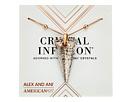 Alex and Ani - Swarovski® Crystal Infusion - Rose Glow Spike Pendant Necklace