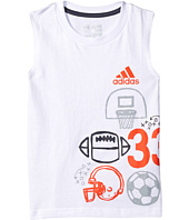 adidas Kids - Multisport Wrap Tank Top (Toddler/Little Kids)