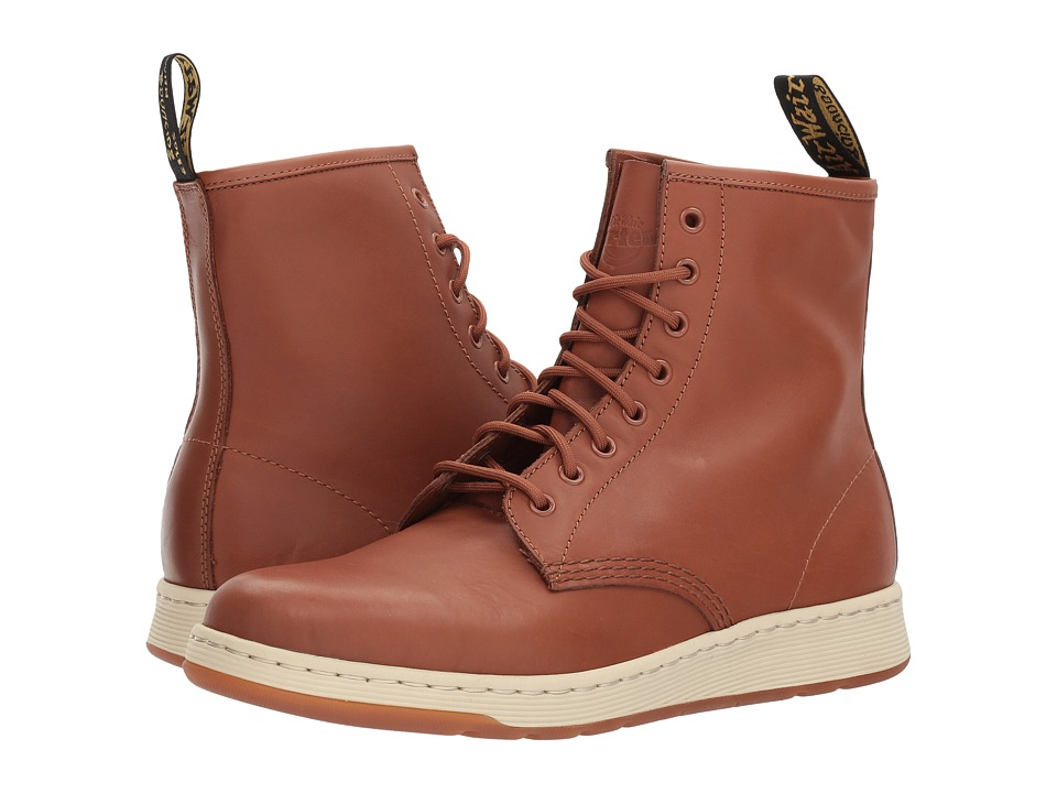 Dr. Martens Newton 8-Eye Boot (Oak Temperley/Match Oak Temperley Binding) Lace-up Boots