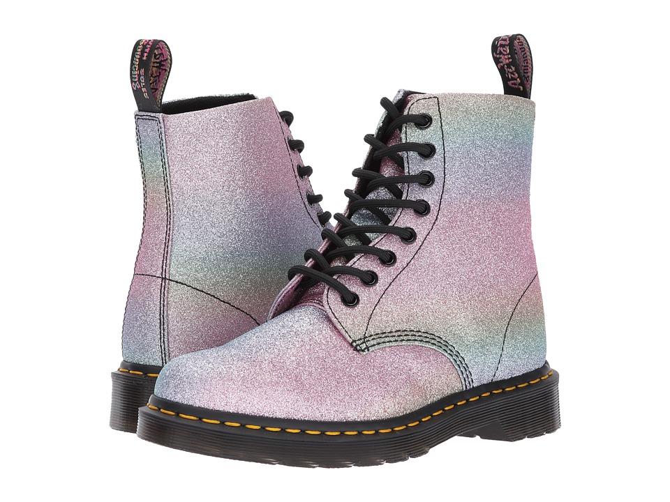 Dr. Martens Pascal Glitter 8-Eye Boot (Multi Glitter PU) Women