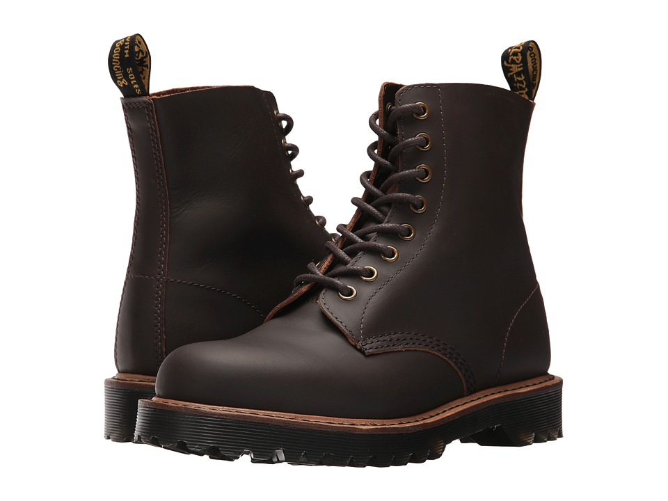 Dr. Martens Pascal II 8-Eye Boot (Dark Brown Montelupo) Women